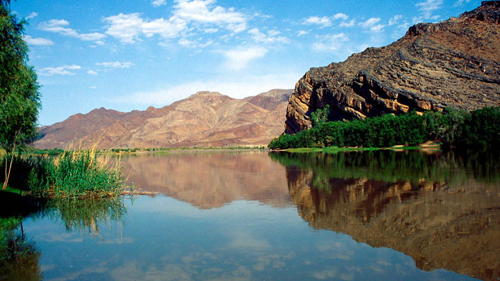 orange river in Zuid Afrika