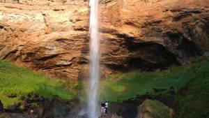 Watervallen Rotsen