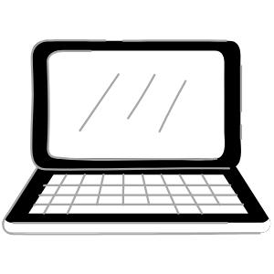 Icoon laptop
