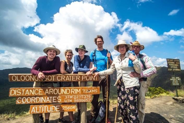 familiereis naar afrika hike