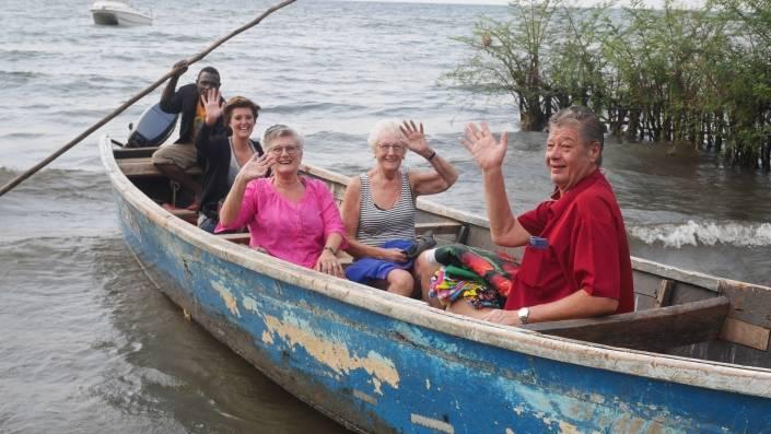 familiereis naar afrika bootsafari