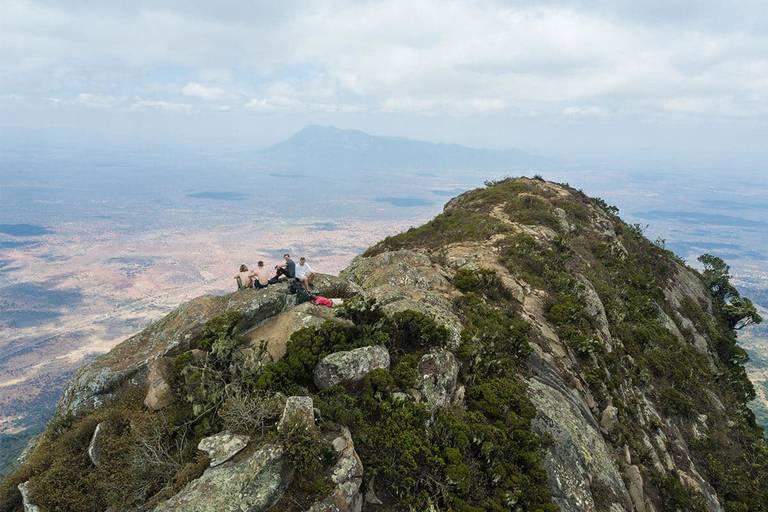 mount longido uitzicht tanzania